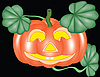 Vector clipart: pumpkin for halloween