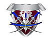 Vector clipart: Shield and sword