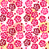 Pink seamless pattern  | Stock Vector Graphics