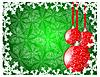 Векторный клипарт: Зимняя новогодняя открытка