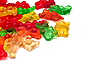 Photo 300 DPI: Background of gummi bears