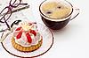 ID 3014613   Filiżanka herbaty i kawałek ciasta   Foto stockowe wysokiej rozdzielczości   KLIPARTO