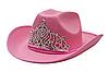 Фото 300 DPI: розовая ковбойская шляпа