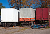 Photo 300 DPI: old cargo trailers.