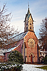 Evangelical Church. Baden-Baden | Stock Foto