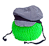 Blue cap on green ball | Stock Foto