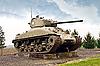 Фото 300 DPI: Французский танк на линии Мажино