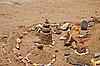 Sand castles | Stock Foto