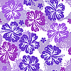 Seamless flower pattern | Stock Vector Graphics