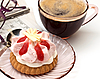 ID 3074430   Filiżankę kawy i kawałek ciasta   Foto stockowe wysokiej rozdzielczości   KLIPARTO