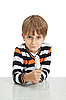 Photo 300 DPI: boy holding light bulb