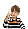 ID 3125378 | Muchacho que sostiene la lámpara | Foto de alta resolución | CLIPARTO