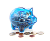 Piggy bank with coins | Stock Foto