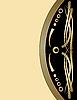 Vektor Cliparts: Vintage frame mit Goldprägung