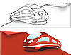 Vector clipart: High-speed train