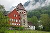 Фото 300 DPI: Старый дом в Княжестве Лихтенштейн