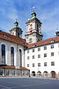 Фото 300 DPI: Здание Университета Санкт-Галлена. Европа. Швейцария