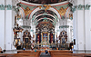 St. Gallen cathedral interior. Swiss landmark, | Stock Foto