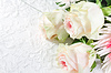 Wedding background with roses | Stock Foto