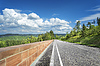Highland Road in Black Forest in Germany | Stock Foto