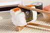 日本料理 - 寿司和生鱼片 | 免版税照片