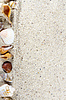 ID 5857849 | Travel background with sand and shells. Summer beach | High resolution stock photo | CLIPARTO