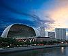 Esplanade (Singapore opera and concert hall Durian) | Stock Foto