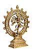 Photo 300 DPI: Statue of Shiva Nataraja - Lord of Dance isolated