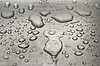 Water droplets on metal | Stock Foto