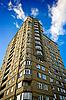 Modern multi-apartments building  | Stock Foto