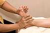 Photo 300 DPI: Foot massage in spa