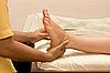 足部按摩温泉   免版税照片