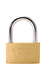 Padlock isolated on white | Stock Foto