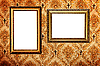 ID 3015443   Empty picture frames on wall   High resolution stock photo   CLIPARTO