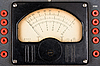 Photo 300 DPI: Vintage analog scale of measurment device