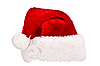 Santa hat isolated on white | Stock Foto