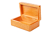 Empty open wooden box | Stock Foto