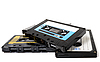 Photo 300 DPI: Several audio cassettes isolated
