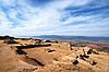Photo 300 DPI: Panorama of sacred site Monte Alban in Mexico