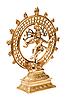 인도 힌두 신 시바 Nataraja의 동상 | Stock Foto