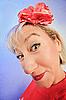 ID 3016691 | Lustige tückische Frau | Foto mit hoher Auflösung | CLIPARTO