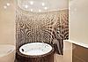 Photo 300 DPI: Bathroom with jacuzzi and mosaic