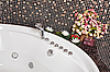 Photo 300 DPI: Bathroom with mosaic and jacuzzi part