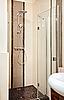 Photo 300 DPI: Shower-cubicle in beige tones