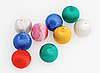 New-Year tree decorations multicolored balls | Stock Foto