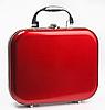 Roter kleiner Koffer | Stock Foto