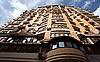 새로운 현대적인 고층 건물의 외관 | Stock Foto