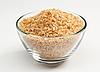 Photo 300 DPI: Cane sugar in glass bowl
