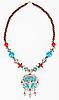 ID 3017196 | Tibetische Halskette mit Jak-Symbol | Foto mit hoher Auflösung | CLIPARTO