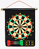Darts set on black sheet board | Stock Foto